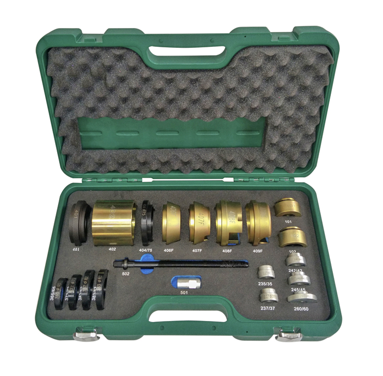 PROFESSIONAL WHEEL BEARING TOOL SET - FOR PEUGEOT / CITROEN / RENAULT