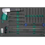 17PCS SPECIAL AIR HAMMER CHISEL SET