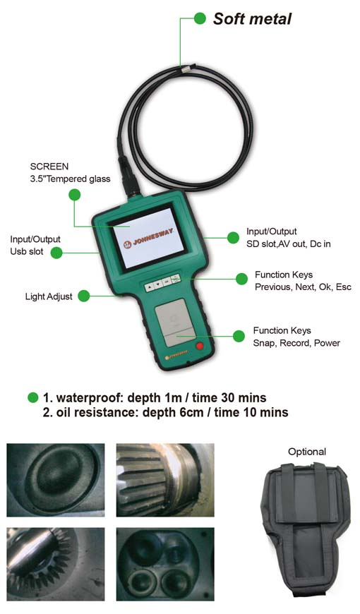 ADVANCED VIDEO BORESCOPE