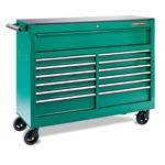 "53"" 13-DRAWER ROLL-WAGON BALL BEARING SLIDES AUTO RETURN SYS..."