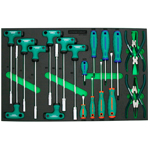 20PCS SCREWDRIVER & PLIERS SET