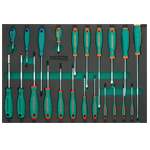 22PCS ANTI-SLIP GRIP SCREWDRIVER SET
