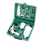 DELUXE PROFESSIONAL GRAVITY FEED SPRAY GUN KIT