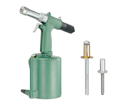 PNEUMATIC-HYDRAULIC BLIND RIVETING TOOLS