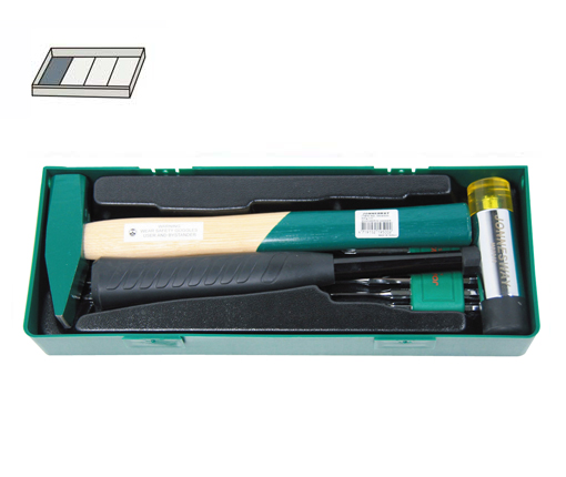 13PCS HAMMER & PUNCH-CHISEL SET