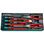 8PCS 1000V INSULATED PLIERS & SCREWDRIVERS SET